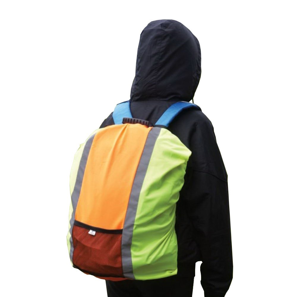 Yoko Rucksack Cover - Colour Hi Vis Yellow/Orange - Size O/S by Yoko
