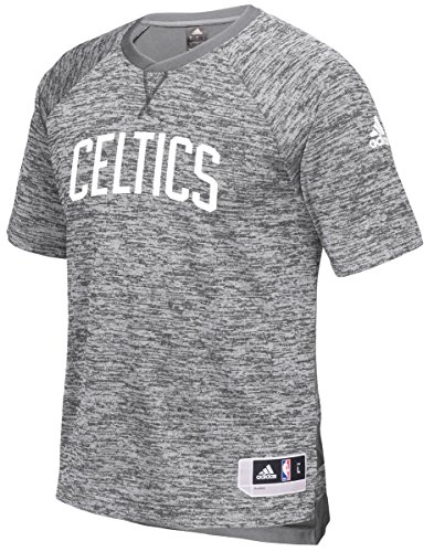 Boston Celtics Adidas 2016 NBA Men's On-Court Authentic S/S Shooting Shirt