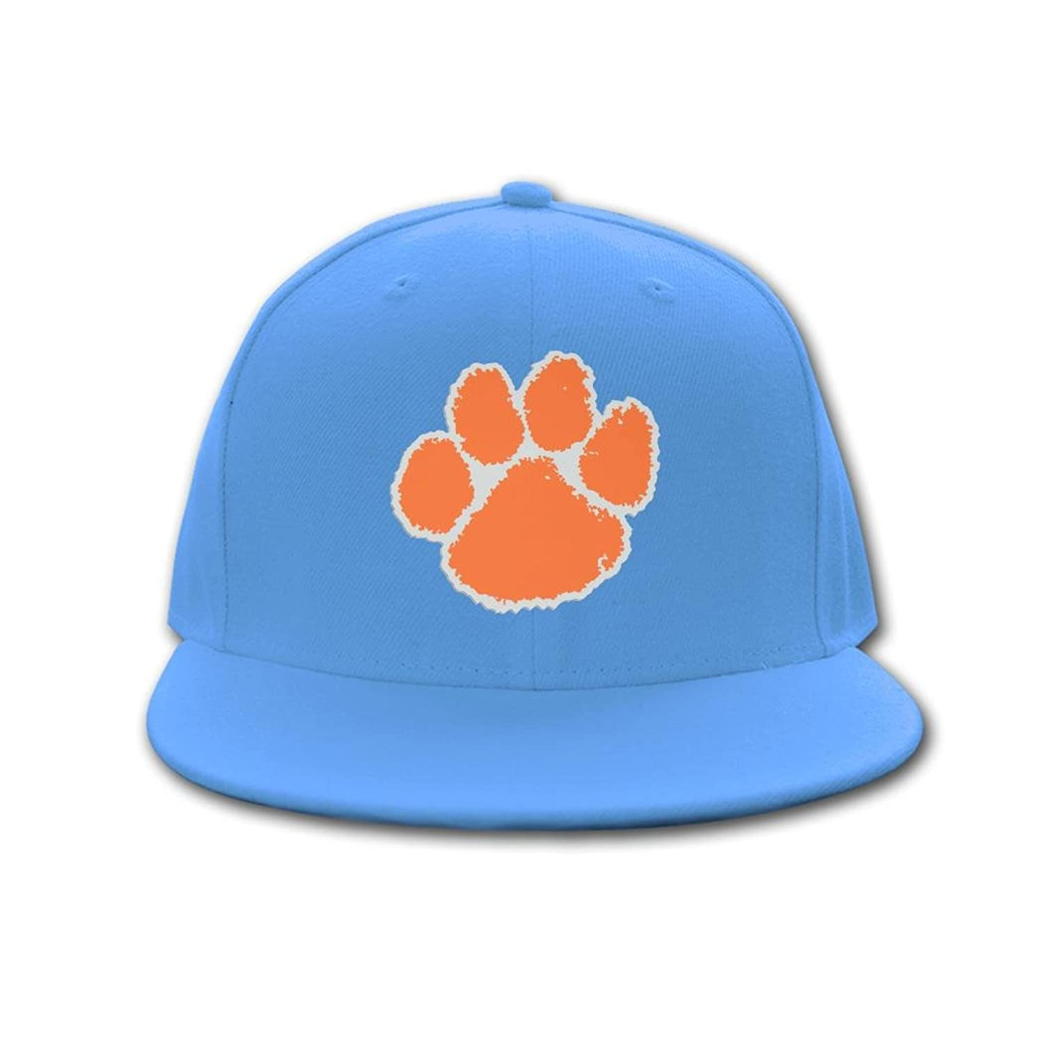 Popular Sun Hat Clemson Tigers Logo 2016 NCAA 100% cotton Hip-hop cap for mens womens