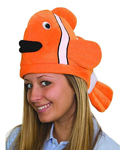 Clown Fish Adult Costumes (Funny Clown Fish Cosume Hat)