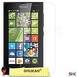 Microsoft Lumia 435 PACK Of 1 Screen Protector & Polishing Cloth SVL2 BY SHUKAN, (PACK 1)