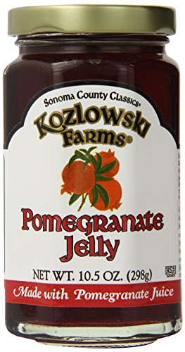 Kozlowski Farms Jelly, Pomegranate, 10.5-Ounce (Pack of 6)