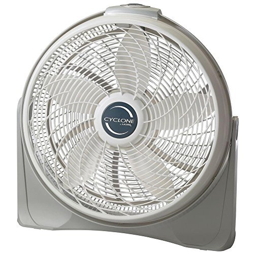 Cyclone 20 In. Power Circulator Fan, Adjustable Fan Head Pivots and Locks in Place for Precision (Cyclone Pivot Fan)