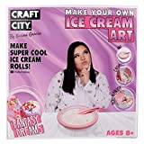 Craft City Make Your Own Ice Cream Art by Karina Garcia | DIY