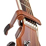 Best Guitar Capos - 6-String Acoustic & Electric Guitar Capo- Single Handed Review