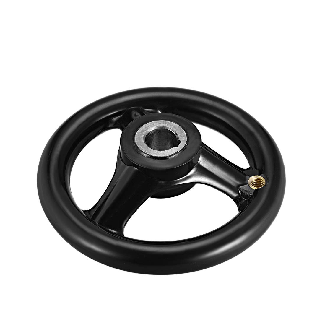 uxcell Hand Wheel 102mm Diameter 12mm Hole Diameter for Milling Machine