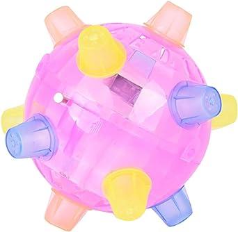 ALIKEEY El salto de moda activa la bola juguete educativo colorido ...