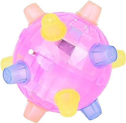 New Flashing Light Up High Bouncing Balls Hedgehog Ball Toys Novelty Kid Toys US