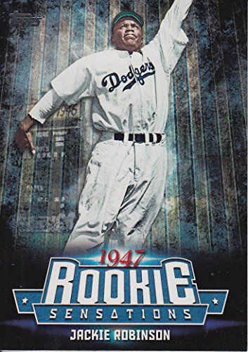 Jackie Robinson Topps 1947 Brooklyn Dodgers Rookie Sensations #RS16 shipped in an acrylic screwdown case ()