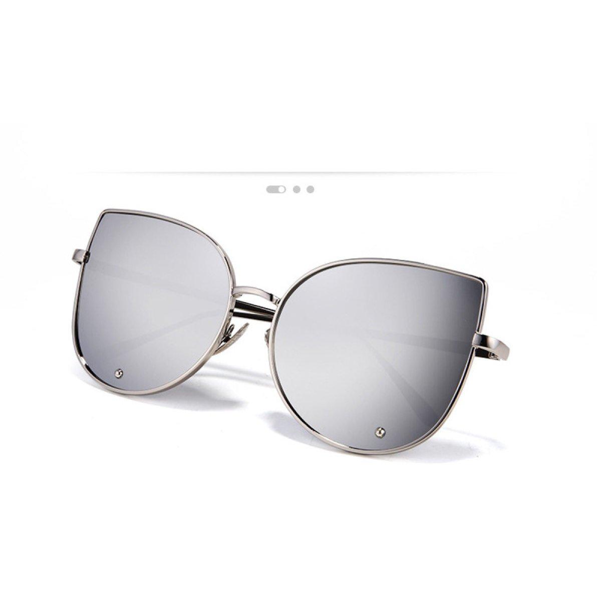 Die Neue Frau Auge Des Metall Katze Sonnenbrille,A1