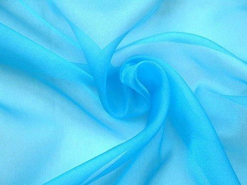 Sparkle Organza Fabric (Sparkle Organza Fabric - Dt. Turquoise, 60