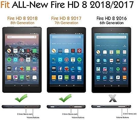 2017 // 2018 Amazon Fire HD 8 ZenTech Tempered Glass Screen Protector Guard