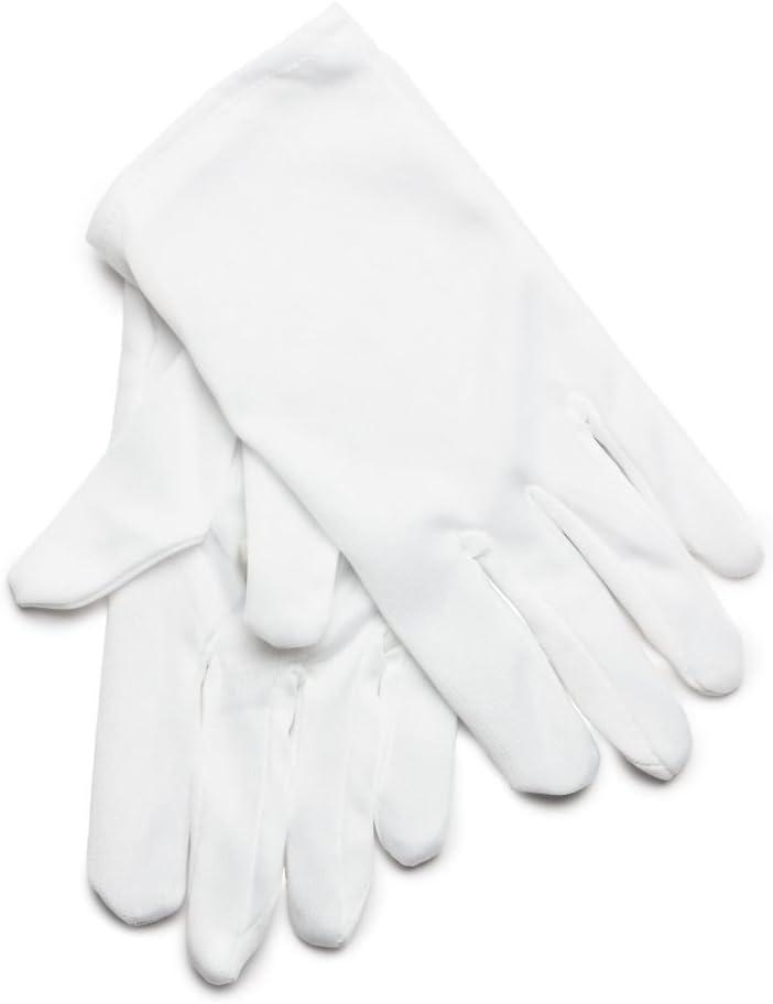 Rubies s - Guantes de algodón Infantiles, Color Blanco (Talla ...