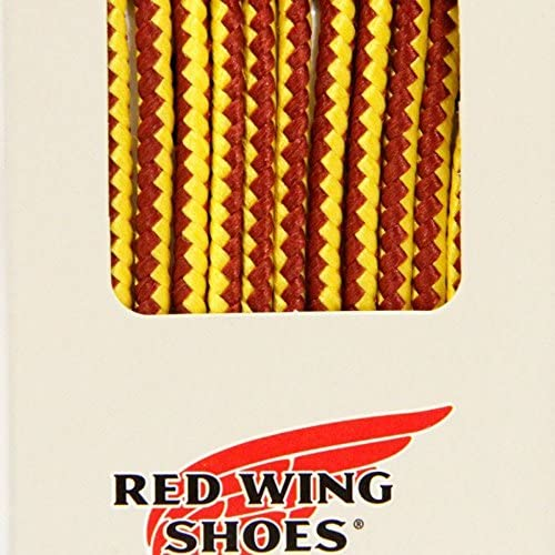 REDWING 純正アクセサリー #97150 タスラン・ブーツレース【48inch/122cm(6インチ用)】(靴ひも・トラヒモ) タン/ゴールド