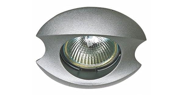 Lúzete - O.b.zamac fijo circular concavo, color plata ...