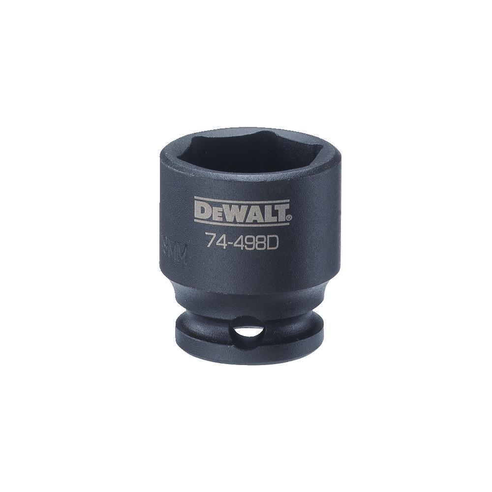 DEWALT 3//8 Drive Impact Socket 6 PT 19MM