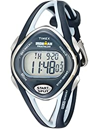 Womens T5K038 Ironman Sleek 50-Lap Navy Resin Strap Watch
