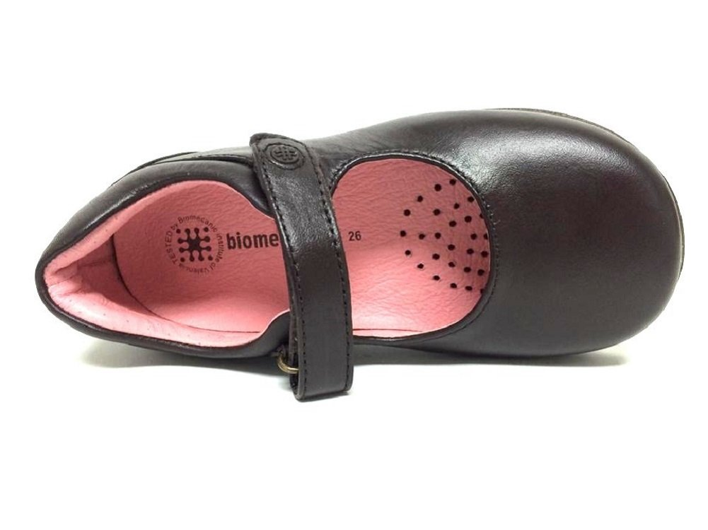 Girls Biomecanics by Garvalin 091100 mary jane leather school shoes in black  and brown B 37: Amazon.co.uk: Shoes & Bags