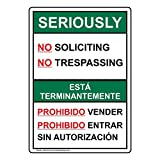 Compliancesigns No Soliciting Signs