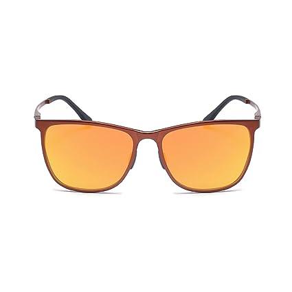 ELITERA polarisées Hommes Lunettes de soleil en aluminium Magnésium Lunettes de conduite E6561 (Marron&Orange) OEIwJIRza