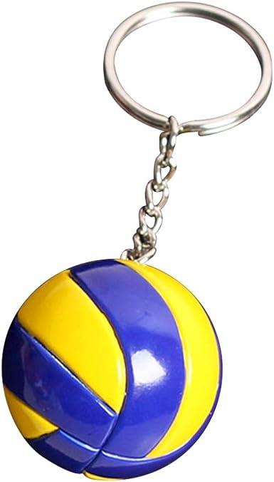 Amosfun llavero de voleibol llavero de voleibol juego de pelota ...