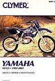 M497-2 Clymer Yamaha YZ125 1994-2001 Repair Manual