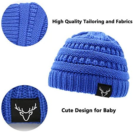 Sarfel Baby Hats Knit Warm Baby Winter Hats Soft Kids Infant Toddler Beanie Baby Beanies for Boys Girls Gifts
