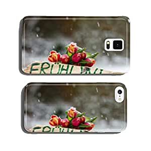 Spring Snow cell phone cover case Samsung S5