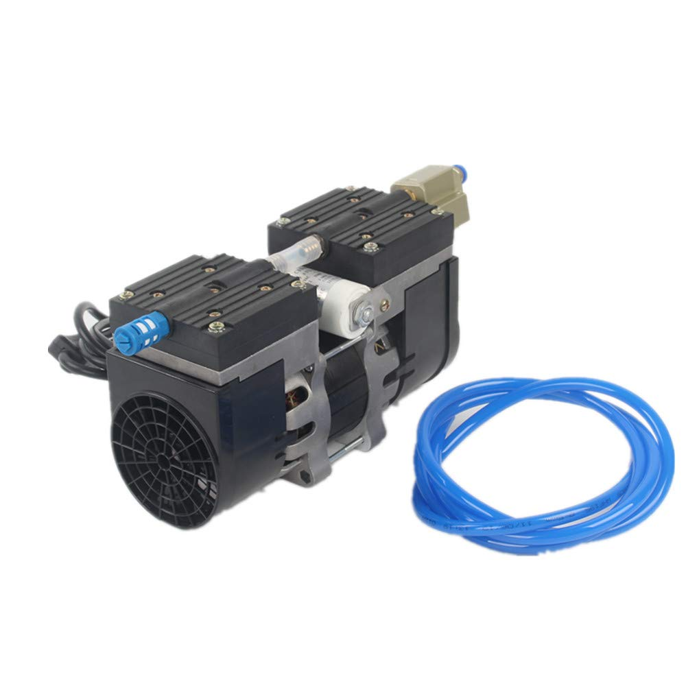 24L Lab Diaphragm Vacuum Pump Oil Free Oilless Medical Mute Pump -95Kpa Air Pump with Air Filter