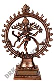 Shiva Statue Nataraja Idol - Dancing Natraj Antique Finish - Home Décor Gift 15 Inches