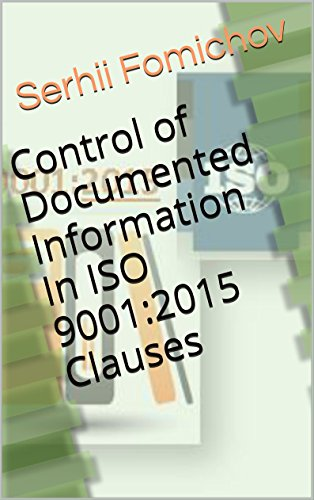Amazon control of documented information in iso 90012015 control of documented information in iso 90012015 clauses by fomichov serhii fandeluxe Image collections