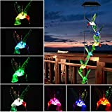 Best Wind Chimes - Solar Hummingbird Wind Chimes Outdoor - Hottly LED Review