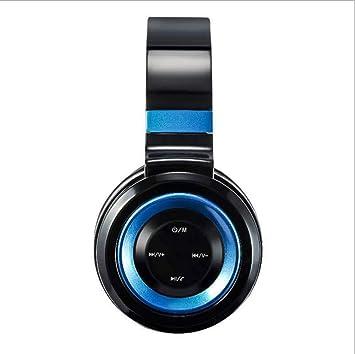 TD P6 Nuevo auricular inalámbrico Bluetooth, dos oídos, 4.2 micrófono montado en la cabeza