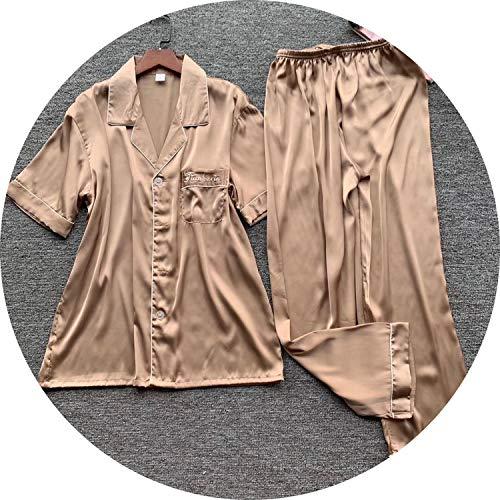 2019 New Pajama Sets Long Sleeves Home Young Male Suitable Pyjama All Seasons,color11,XL