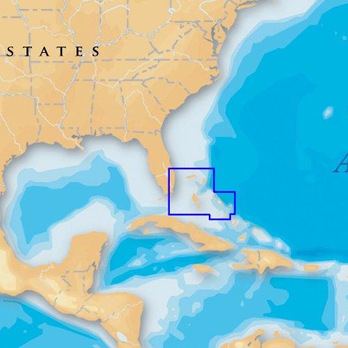 Navionics Platinum Plus North Bahamas on CF