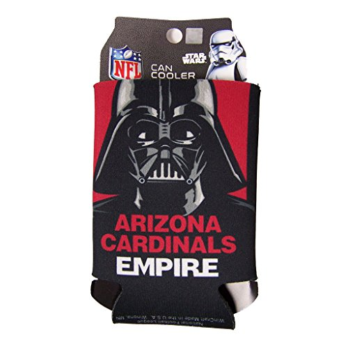 NFL Star Wars Darth Vader 12 Ounce Can Coozie (Arizona Cardinals)