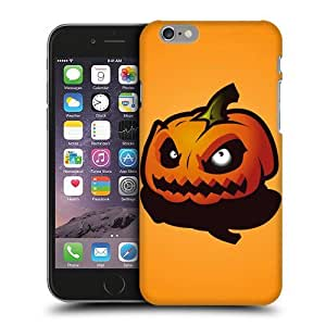 Case Fun Halloween Evil Pumpkin Snap-on Hard Back Case Cover for Apple iPhone 6 (4.7 inch)