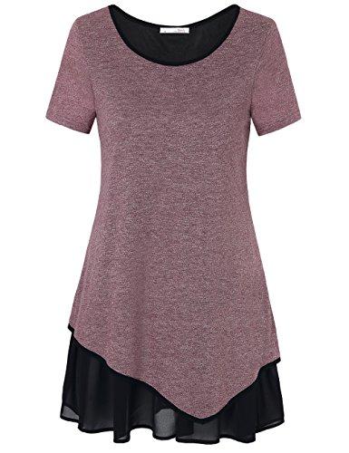 Layered Crewneck T-Shirt - 2