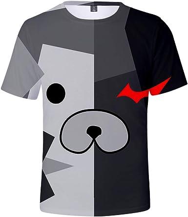 Anime Danganronpa Monokuma Camiseta Dangan Ronpa: Trigger ...