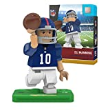 NFL New York Giants Gen4 Limited Edition Eli Manning Mini Figure, Small, White