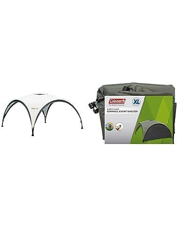 COLEMAN Toldo Zelt Event Shelter, Gris-Verde, XL + Coleman Parasol para carpa