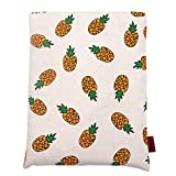 Book Sleeve Pineapple Book Cover Small Medium Book Sleeves Teen Gift (Medium)