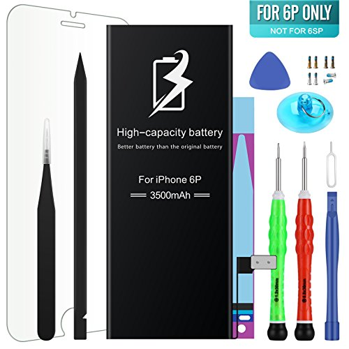 Cheap Replacement Batteries High Energy Li-ion Battery Model iPhone 6 Plus - With Repair Tool..