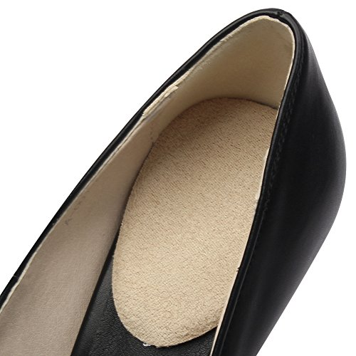footinsole Shoes Inserts for Heels(4 PCS) - Suede Massage Gel Heel Cushion Pad from Heel 2 Pairs