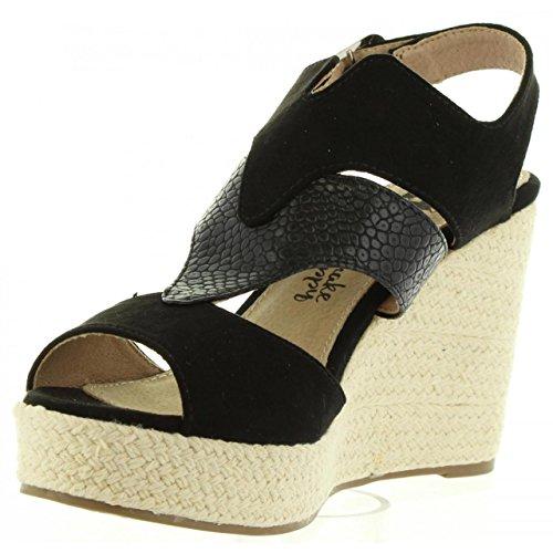 Sandalias de Mujer XTI 46624 COMBINADA NEGRO