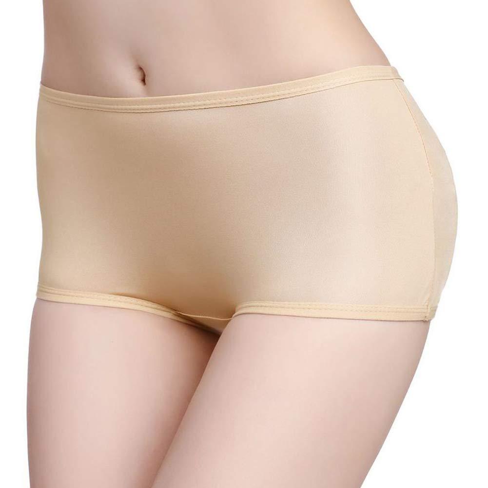 Paskyee Womens Lace Seamless Butt Lifter Padded Panties Enhancer Underwear