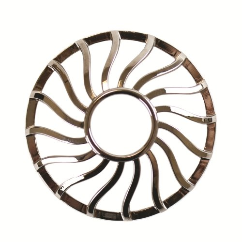 YANKEE CANDLE Curve Gun Metal Illumalid, Argento 1521513
