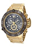 Invicta 20159 Men's Subaqua Noma Iii Chronograph 18K Gold Plated Steel Gunmetal Dial Watch