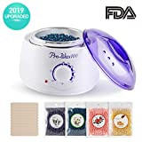 Wax Warmer Hair Removal Kit-Upgraded Electric Wax Melter Hot Wax Warmer Brazilian Wax
