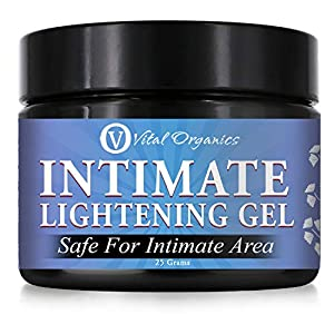 Vital Organics Intimate Lightening Serum/Cream For Sensitive Skin Of Underarms And Bikini Area, Made With Natural…